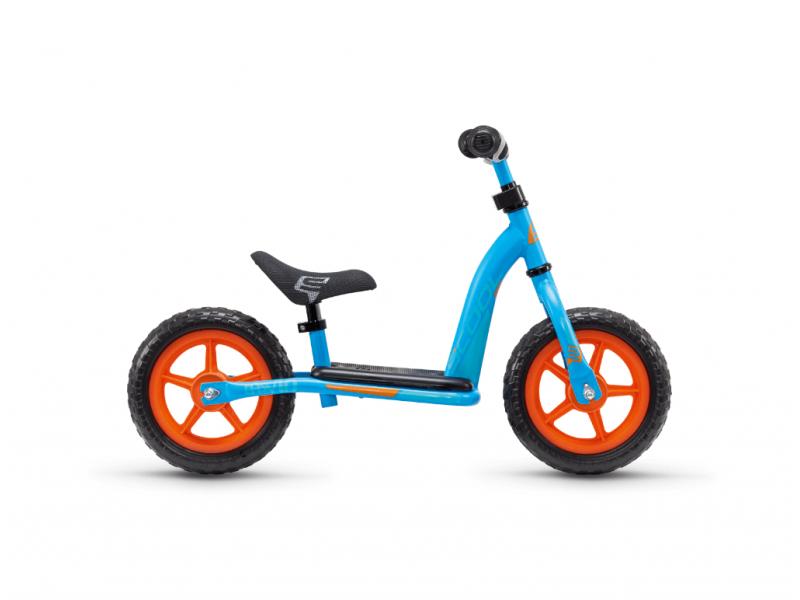 Dětské odrážedlo pedeX easy 10 modro-oranžové 1