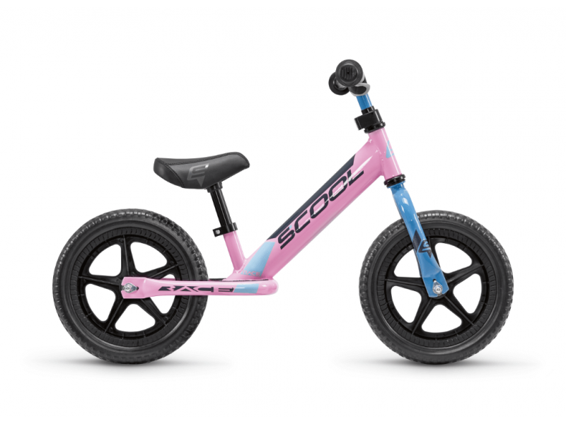 Dětské odrážedlo pedeX race růžovo-černé 1