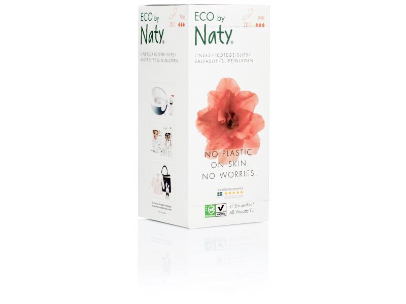 Naty Slipové vložky Naty Nature Womencare (28 ks) - super