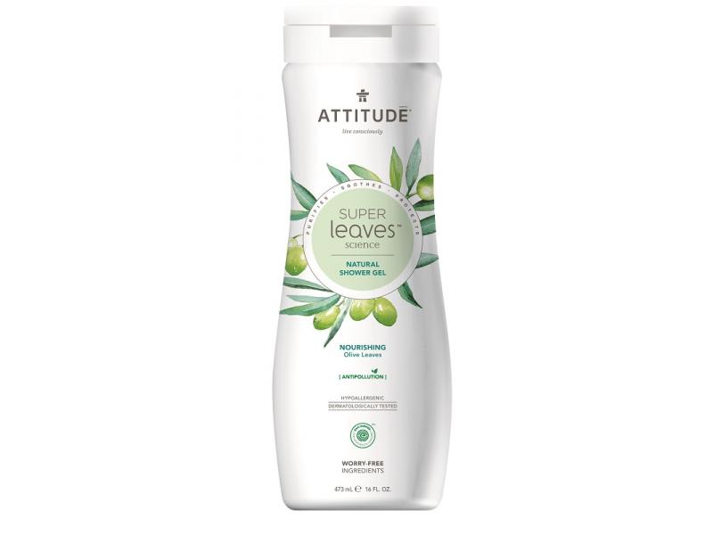 Attitude Přírodní tělové mýdlo Super leaves s detox. účinkem - olivové listy 473 ml