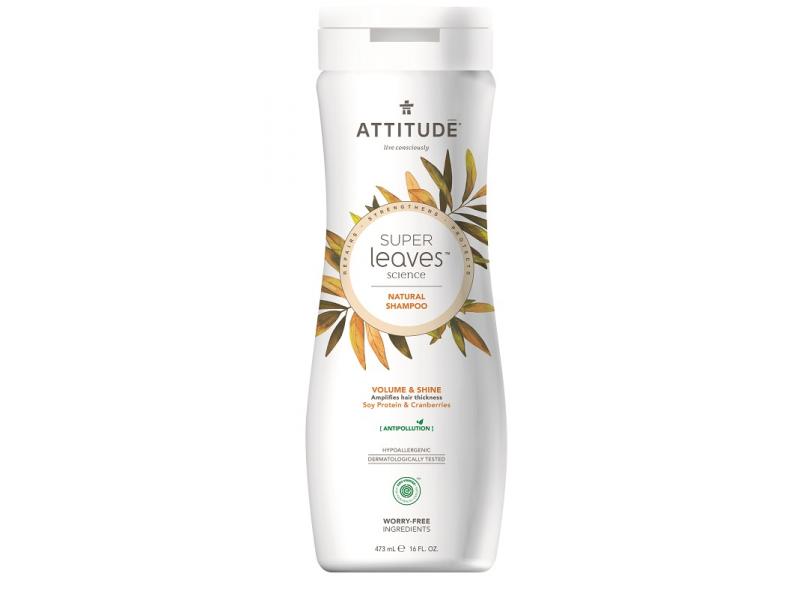 Přírodní šampón Super leaves s detox, účinkem - lesk a objem pro jemné vlasy 473 ml 1