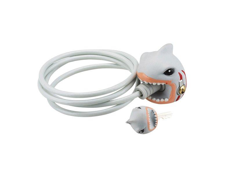 Crazy Safety Zámek na kolo Žralok