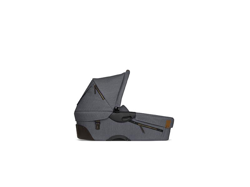 Hluboké lůžko Evo Industrial Lava Grey 1