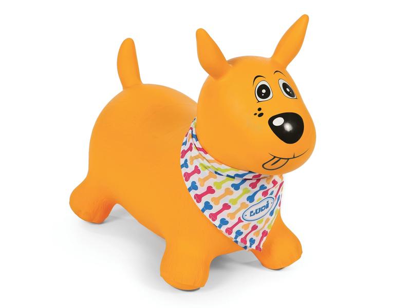 Skákací pes žlutý 1