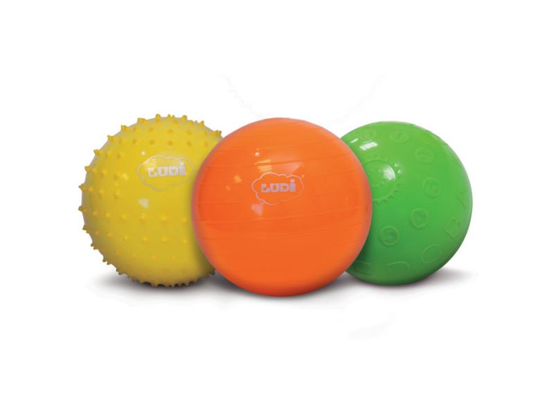 Senzorické míčky 3 ks 1