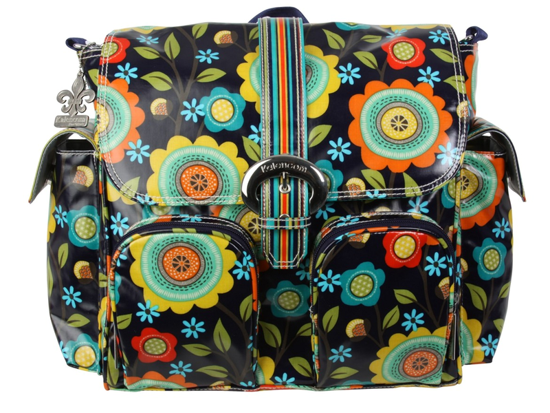 Kalencom Přebalovací taška Double Duty Floral Stitches
