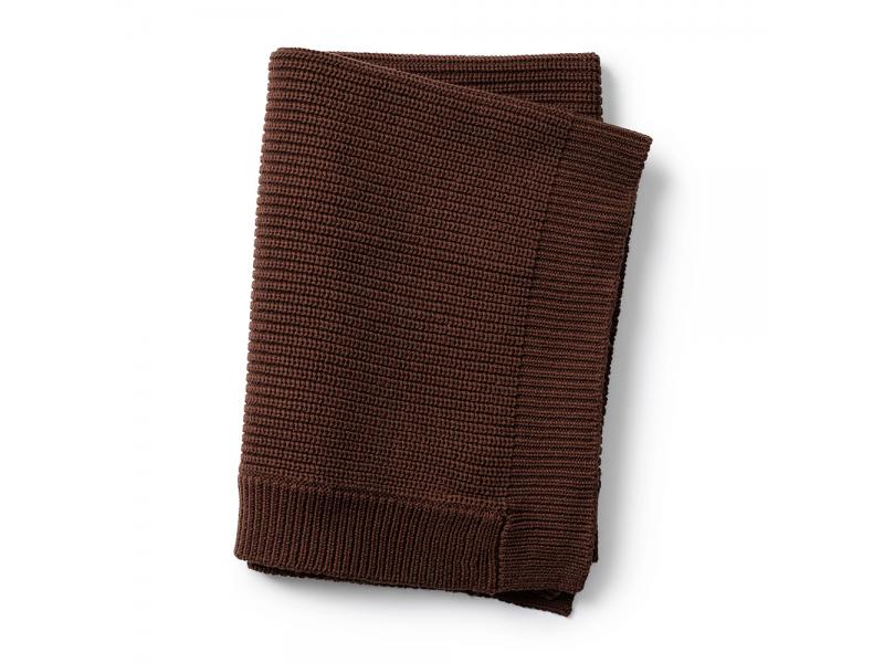 Elodie Details Vlněná deka Chocolate