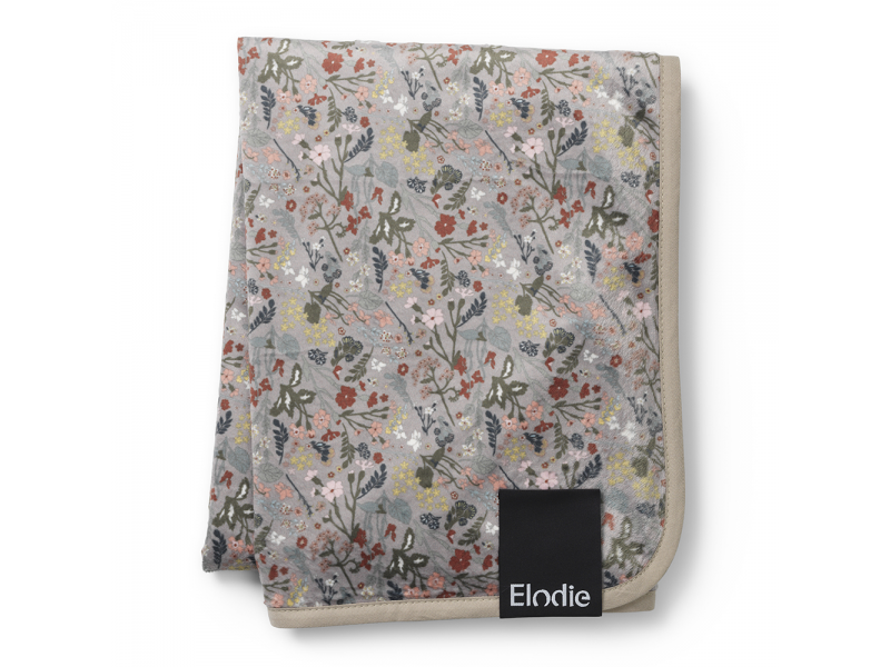 Sametová deka Vintage Flower 1