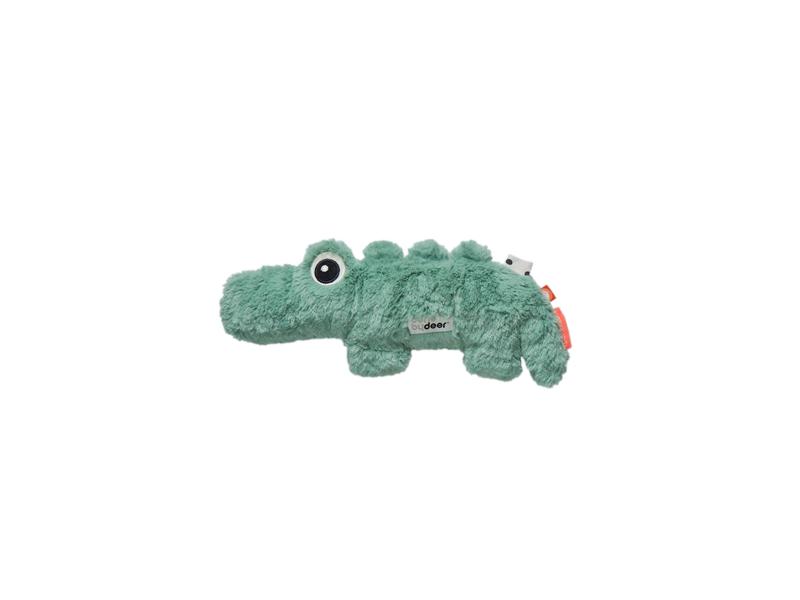 DONE BY DEER Mazlivá hračka Croco malá - zelená