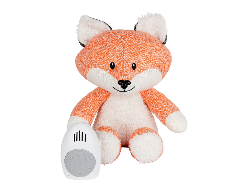 Hračka s tlukotem srdce Robin the Fox Orange 1