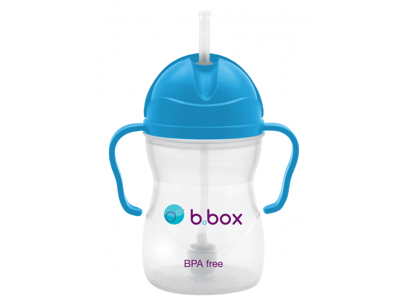 B.BOX Sippy Cup-hrneček na cesty-modrá