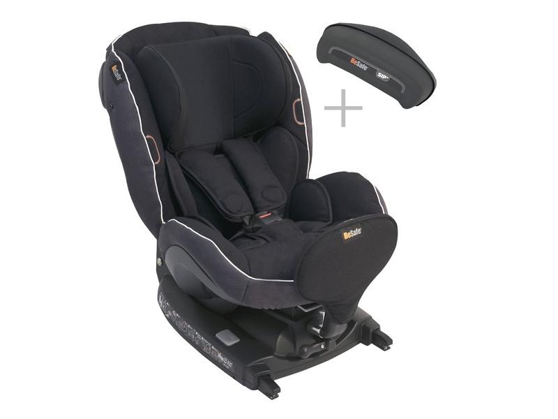 BeSafe iZi Combi X4 ISOfix Midnight Black 01 autosedačka 0-18 kg