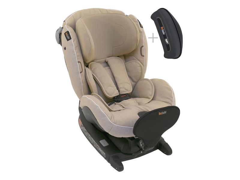 BeSafe iZi Combi X4 ISOfix Ivory Mélange 03 autosedačka 0-18 kg