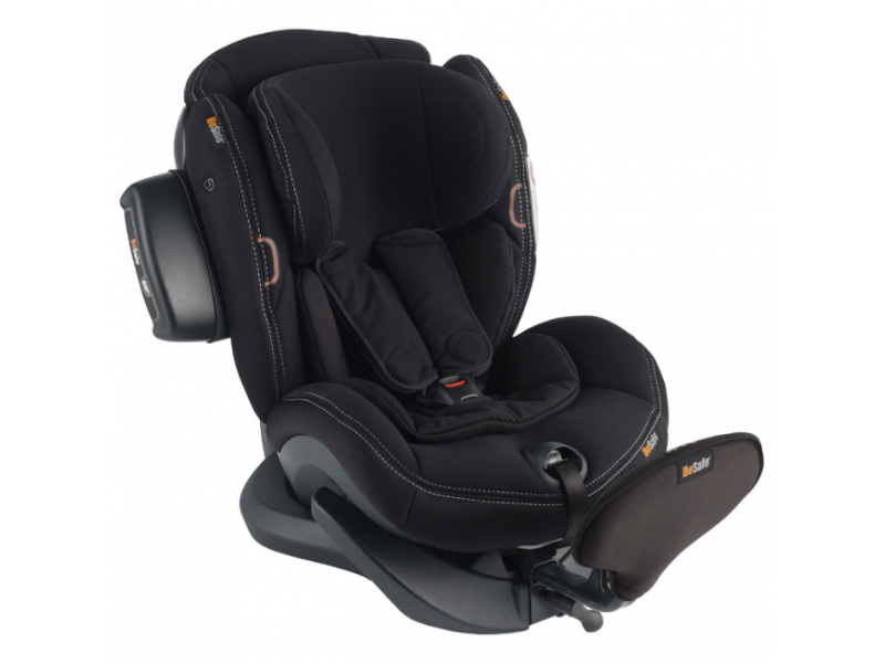 iZi Plus X1 premium car interior black 50 autosedačka 0-25 kg 1
