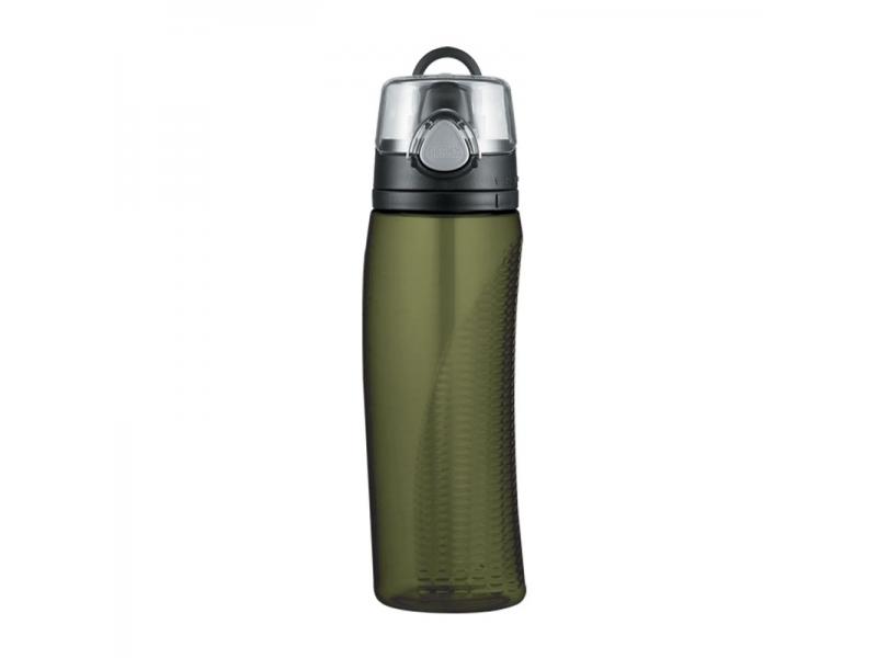 Thermos Hydratační láhev s počítadlem - olivově zelená