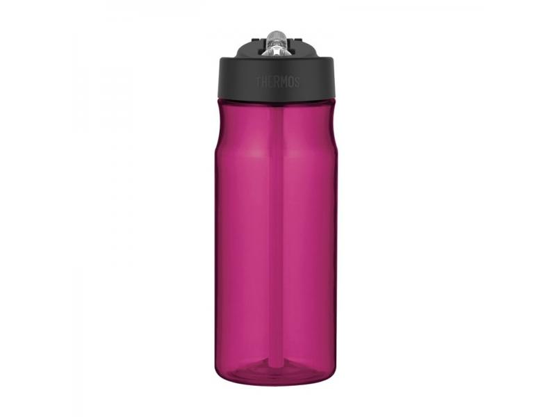 Thermos Hydratační láhev s brčkem - purpurová