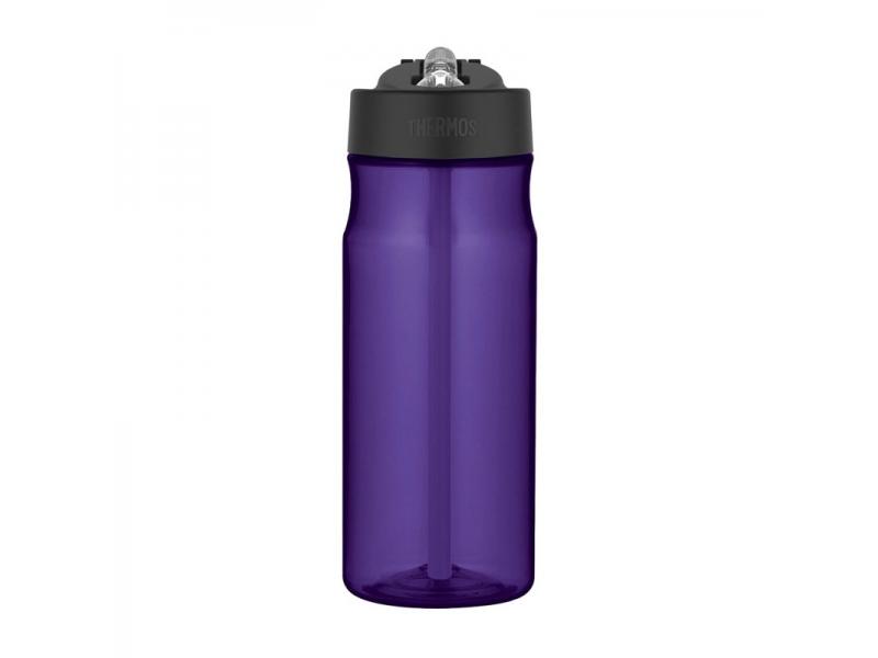 Thermos Hydratační láhev s brčkem - fialová
