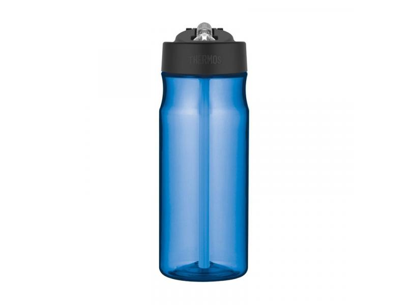 Thermos Hydratační láhev s brčkem - světle modrá