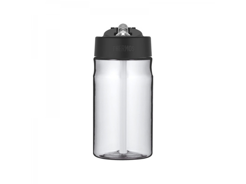 Thermos Dětská hydratační láhev s brčkem - čirá