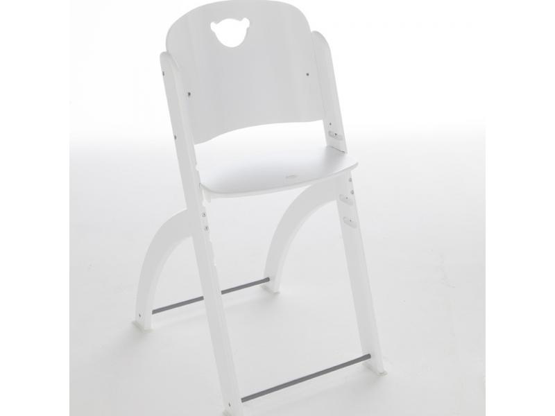 Pali Jídelní židlička PAPPY bílá