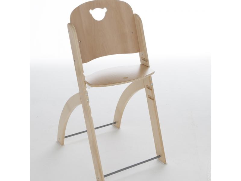 Pali Jídelní židlička PAPPY přírodní