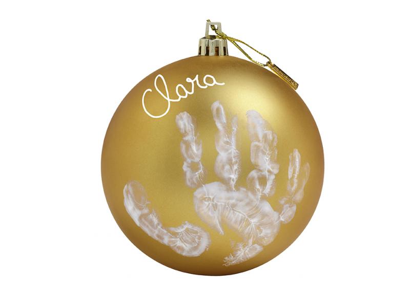 Vánoční koule christmas ball gold 1