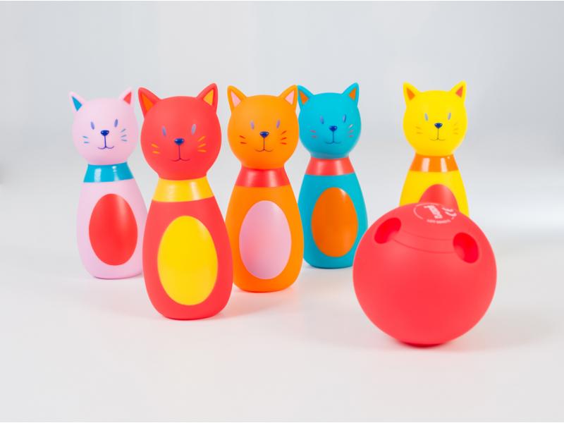 Bowling pro nejmenší Kočičky 1