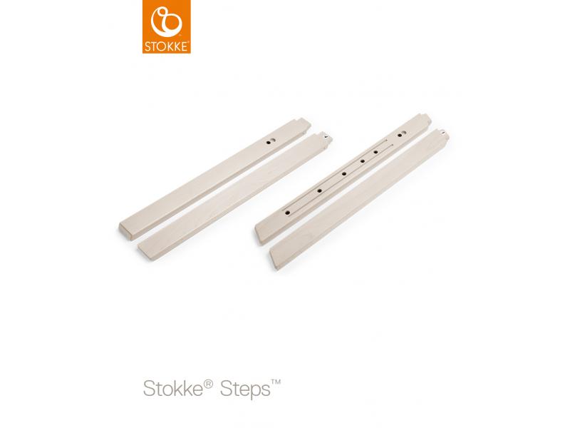 Stokke Nohy k židličce Steps™, buk - White Wash