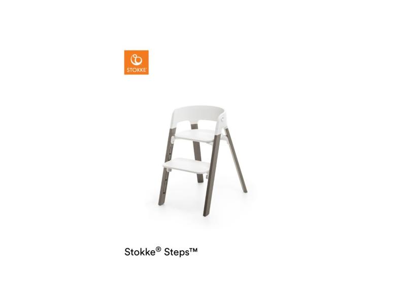 Stokke Židlička Steps™ Bílá / Hazy Grey