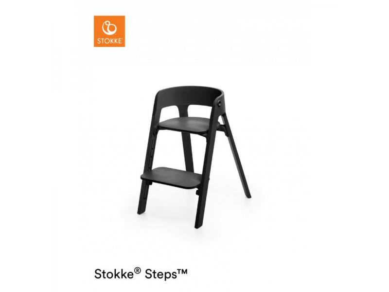 Stokke Židlička Steps™ Black/Black