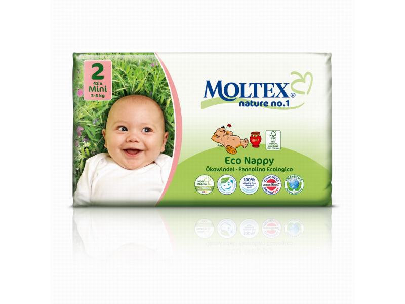 Plenky Moltex nature no. 1  Mini 3 - 6 kg (42 ks) 1