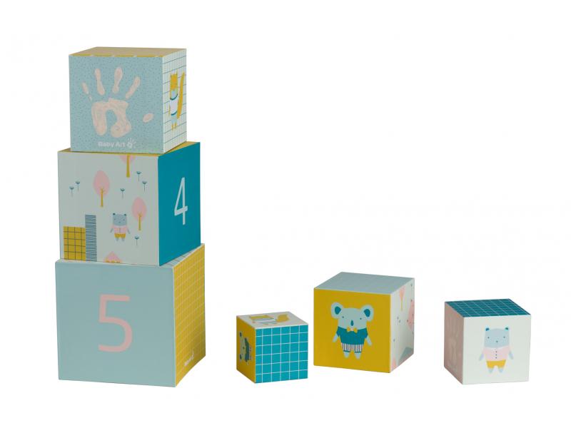 Baby Art Stohovací kostky Activity Cubes