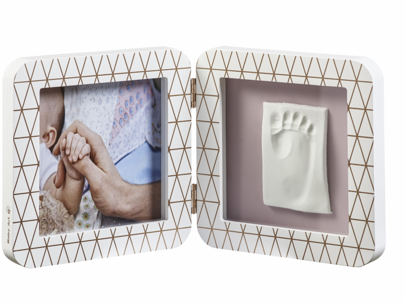 Baby Art My Baby Touch Simple Copper Edition White