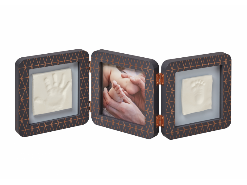 Baby Art My Baby Touch Double Copper Edition Dark Grey