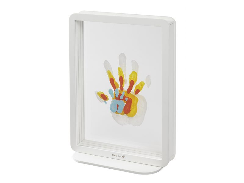Rámeček Superposed Handprints White 1