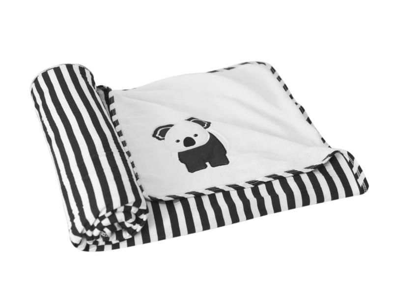 toTs Deka oboustranná bambusová černobílá koala