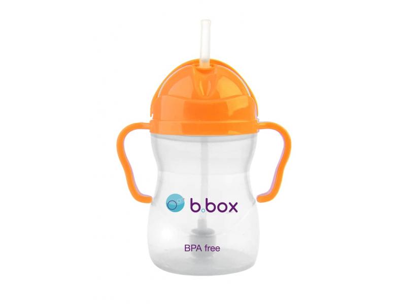 B.BOX Sippy Cup-hrneček na cesty-neo oranžová