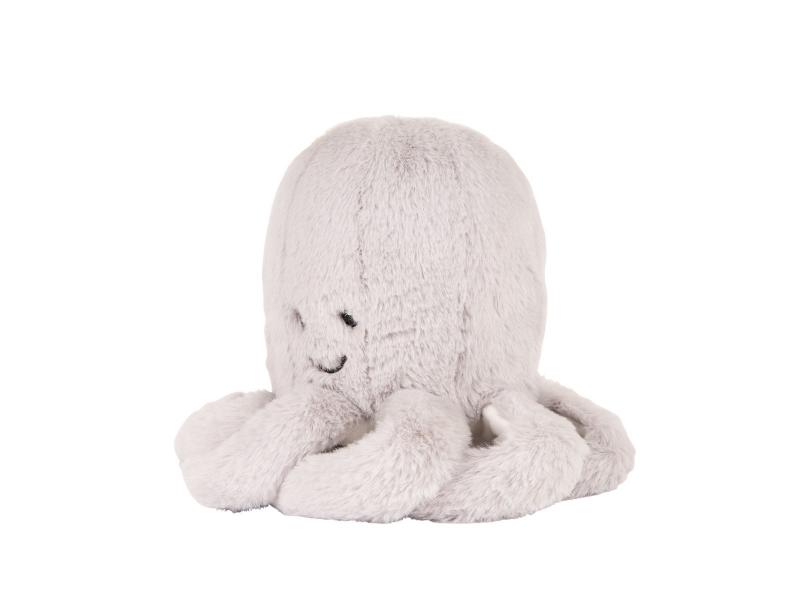 Hračka s tlukotem srdce Olly the Octopus Grey 1