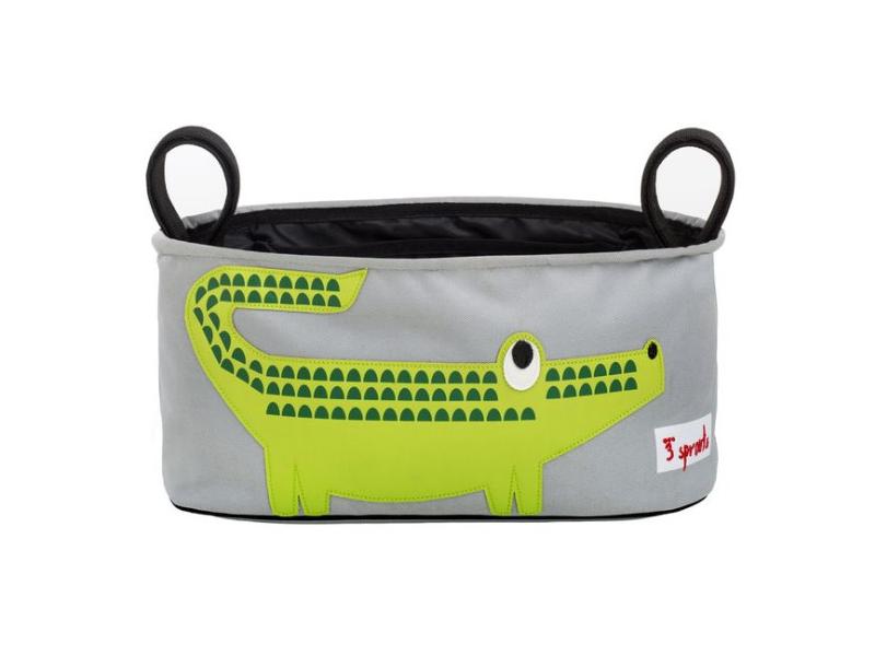 3 Sprouts Stroller Organizer - Organizér na kočárek krokodýl