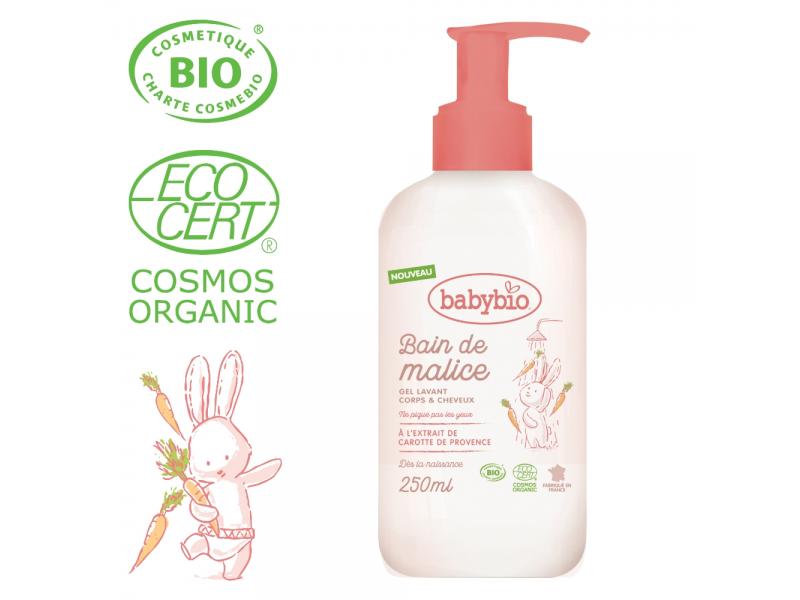 Sprchový BIO gel pro miminka od narození 250ml 1