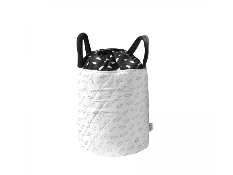 Košík na hračky nebo prádlo Leaf malý 1