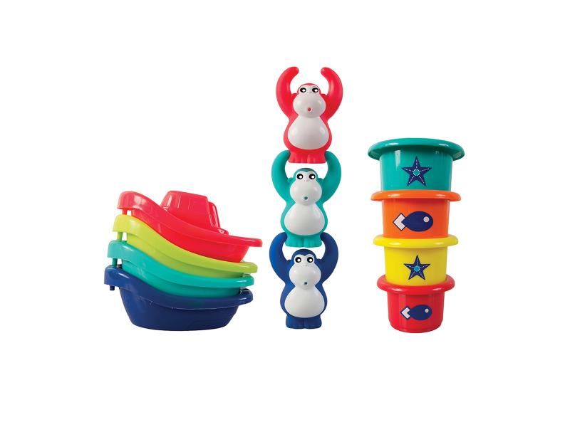 Sada hraček do koupele Opičky 1