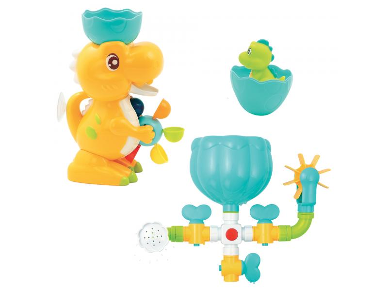 Vodní mlýnek s potrubím Dinosaurus 1