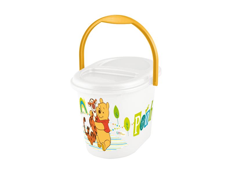 """Keeeper Koš na pleny """"Winnie Pooh"""", Bílá"""