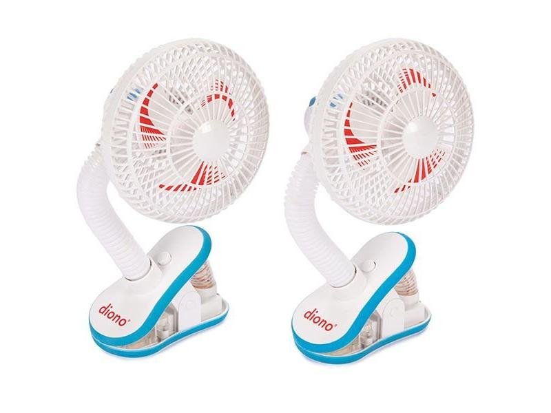ventilátor na kočárek Stroller Fan 2ks 1