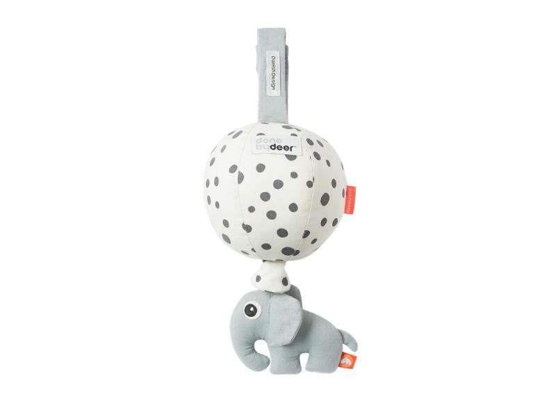DONE BY DEER Hudební hračka Balloon - Happy Dots