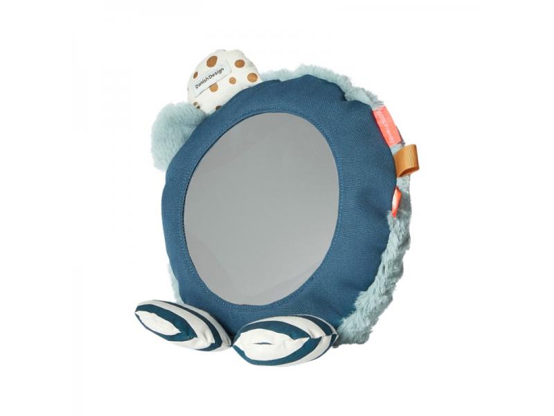 DONE BY DEER Zrcadlo na podlahu - modré