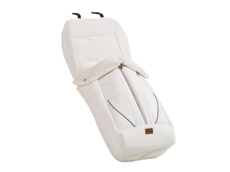 Emmaljunga Fusak de Luxe White Leatherette