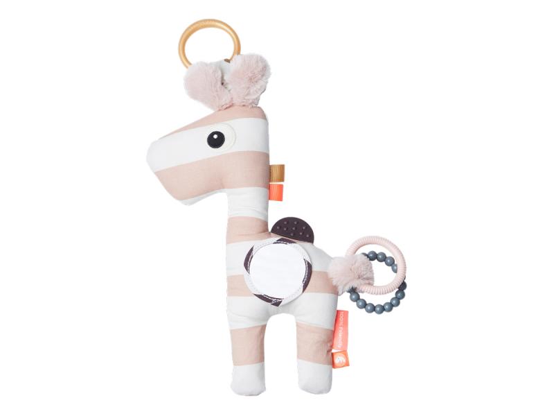 DONE BY DEER Aktivní hračka Raffi - růžová