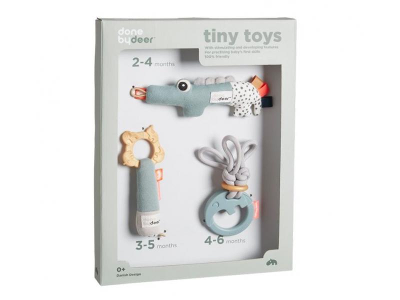 DONE BY DEER Tiny aktivní hračky - dárkový set